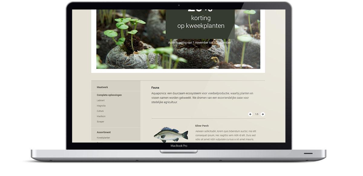 Aquafarming Website