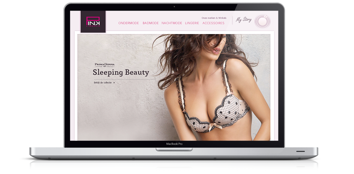 Pink Lingerie Website